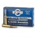 Munitions PPU 6.5 x 55 swedish