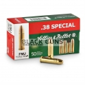 Munitions Sellier Bellot 38 special S.P. 158 grs
