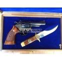 Revolver S&W modèle 19-4 Texas Rangers commemoratif 150 ans cal 357 mag
