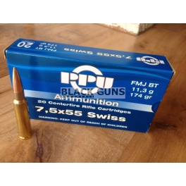 munitions 7.5x55 swiss PPU