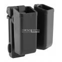 Porte chargeur double pivotant 9mm ESP