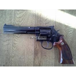 Revolver S&W, arme d'occasion, modèle 586, calibre 38sp/357mag, canon 6'', catégorie B1