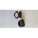 Colliers en acier pour montage de lunettes Rail 13mm diamètre 25.4 neuf